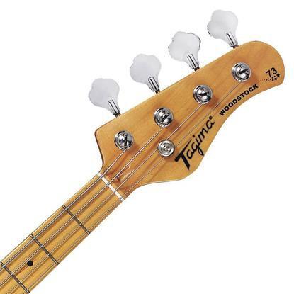 Baixo Tagima Woodstock Jazz Bass TW73 WH/C/MG