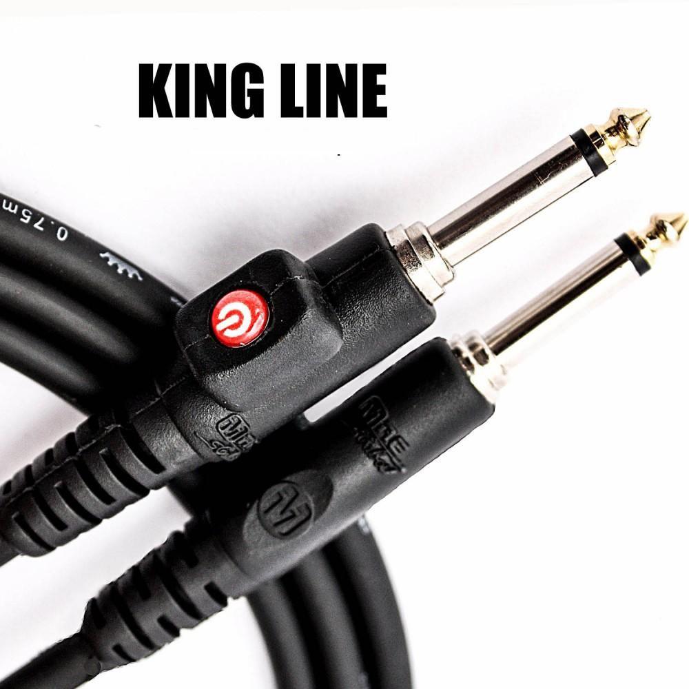 Cabo  Mac Cabos King Line com Botão Mute 6,10m - Plug L