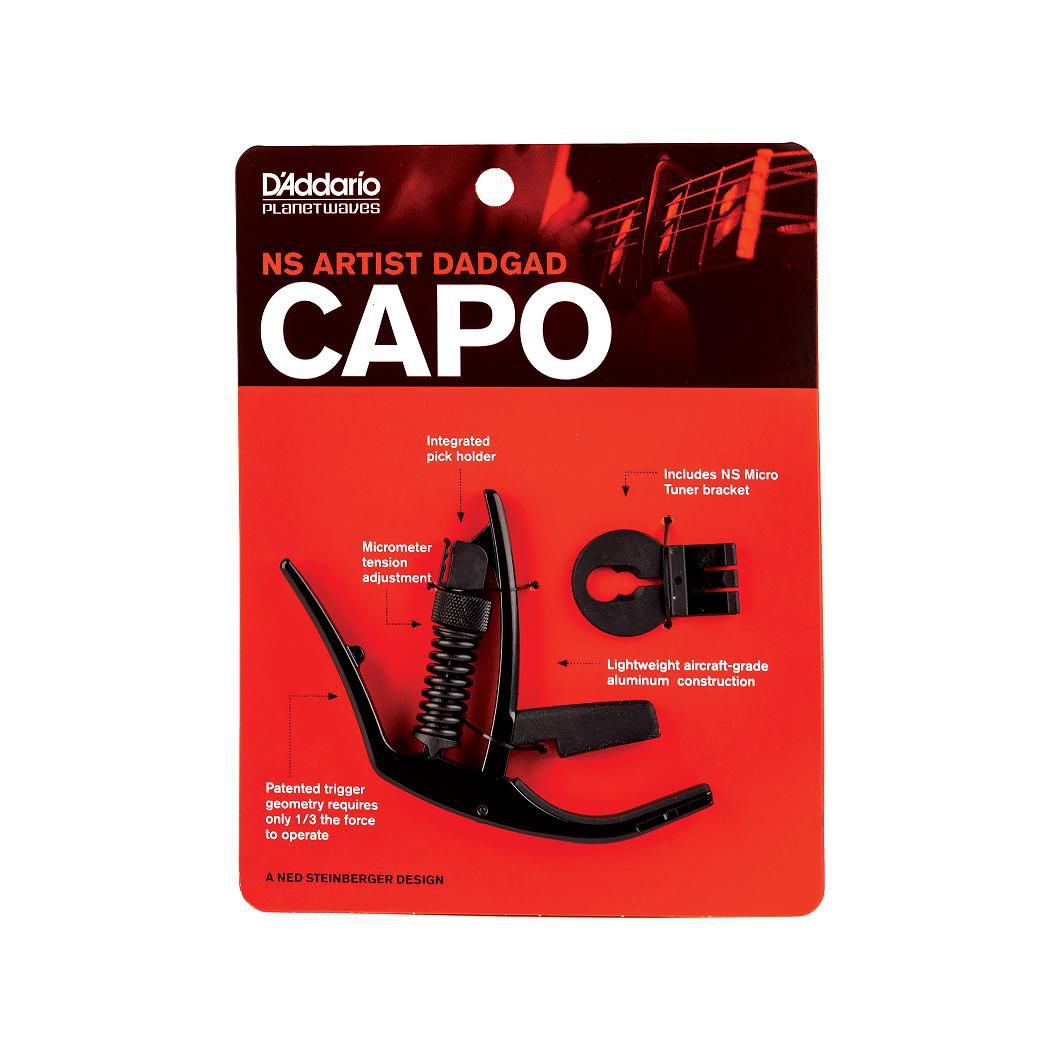 Capotraste Planet Waves Artist DADGAD PW-CP-14