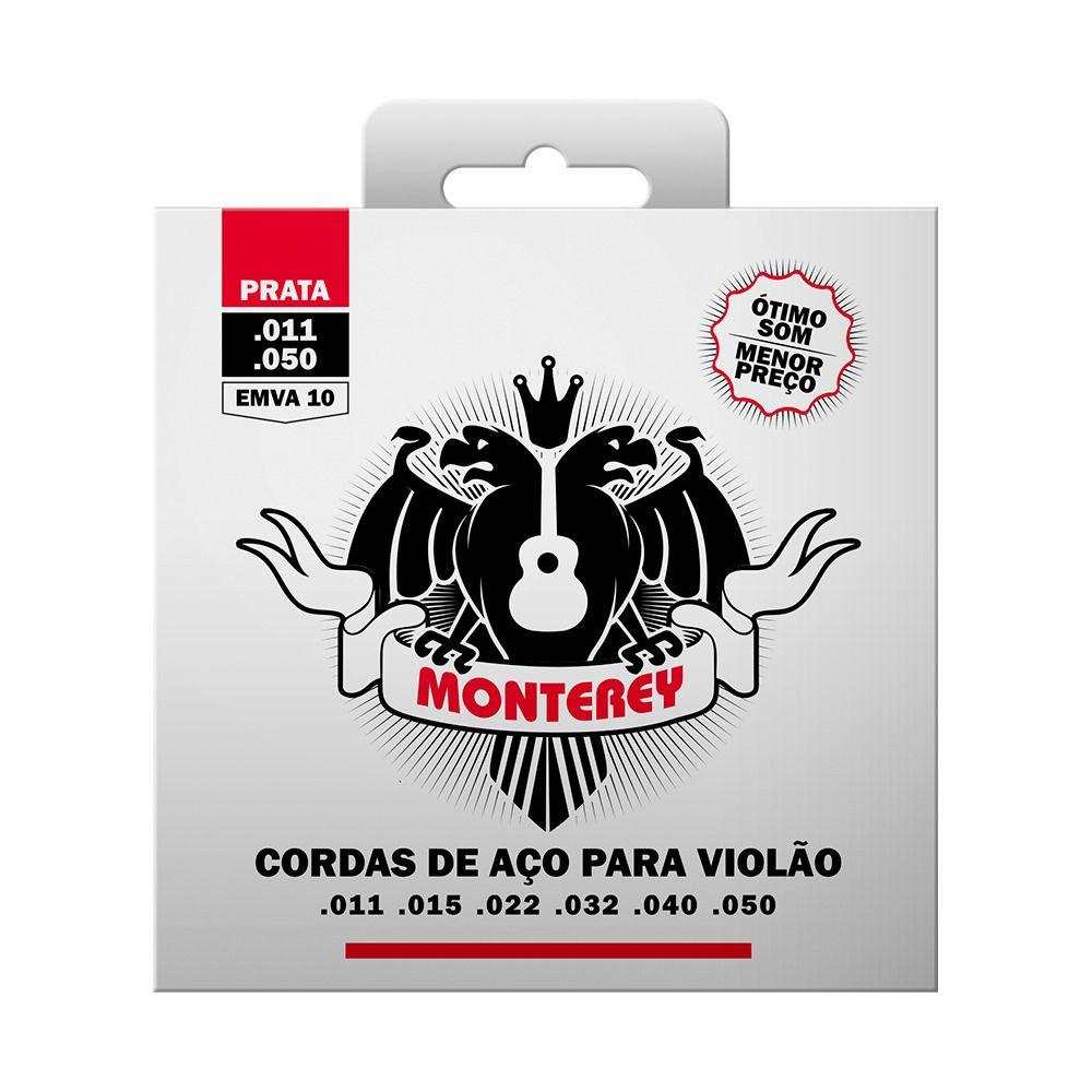 Encordoamento Monterey Violão Aço 011 EMVA10