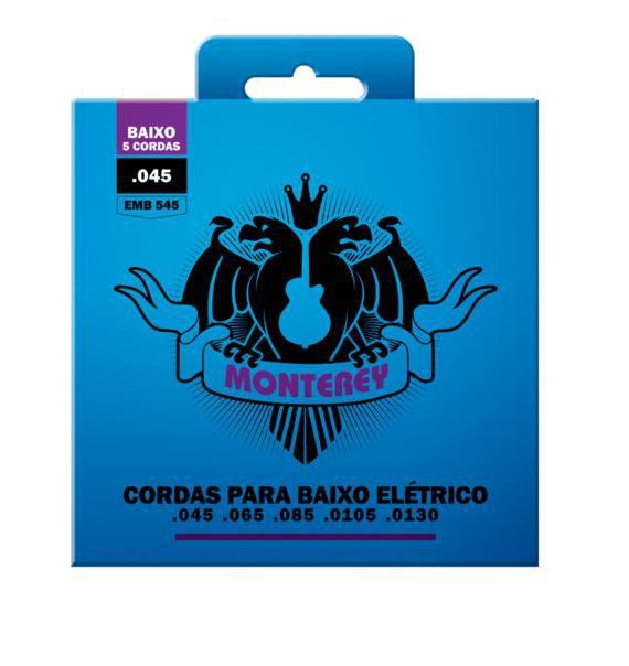 Encordoamento Solez Monterey Baixo 5 Cordas EMB545 045-130