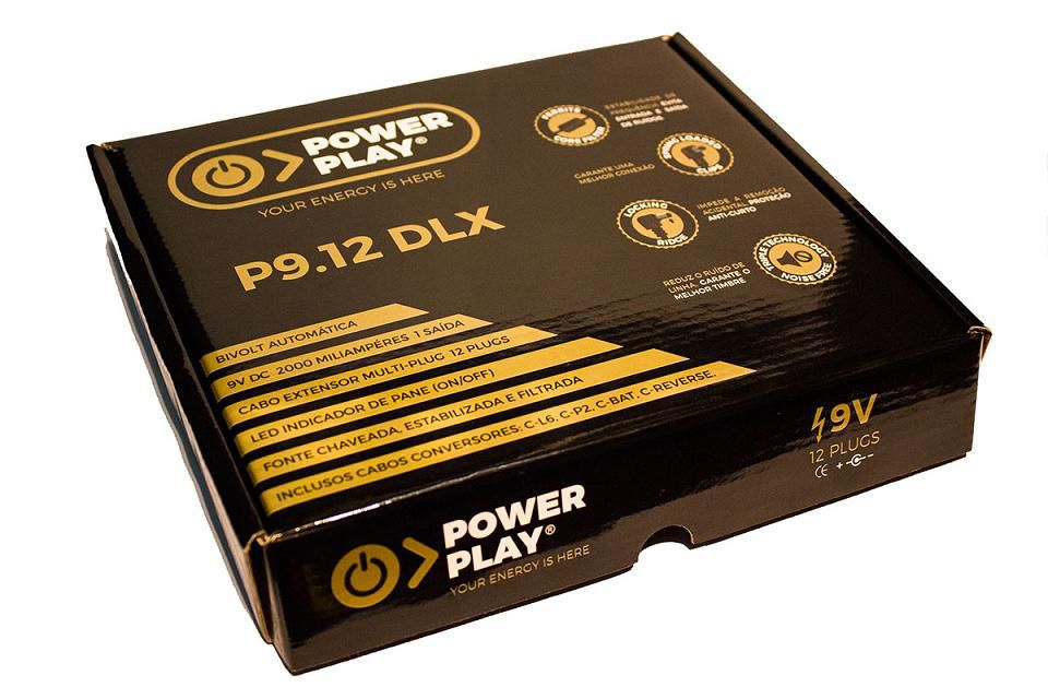 Fonte Power Play P9.12dlx 12 Pedais  , 2000mA
