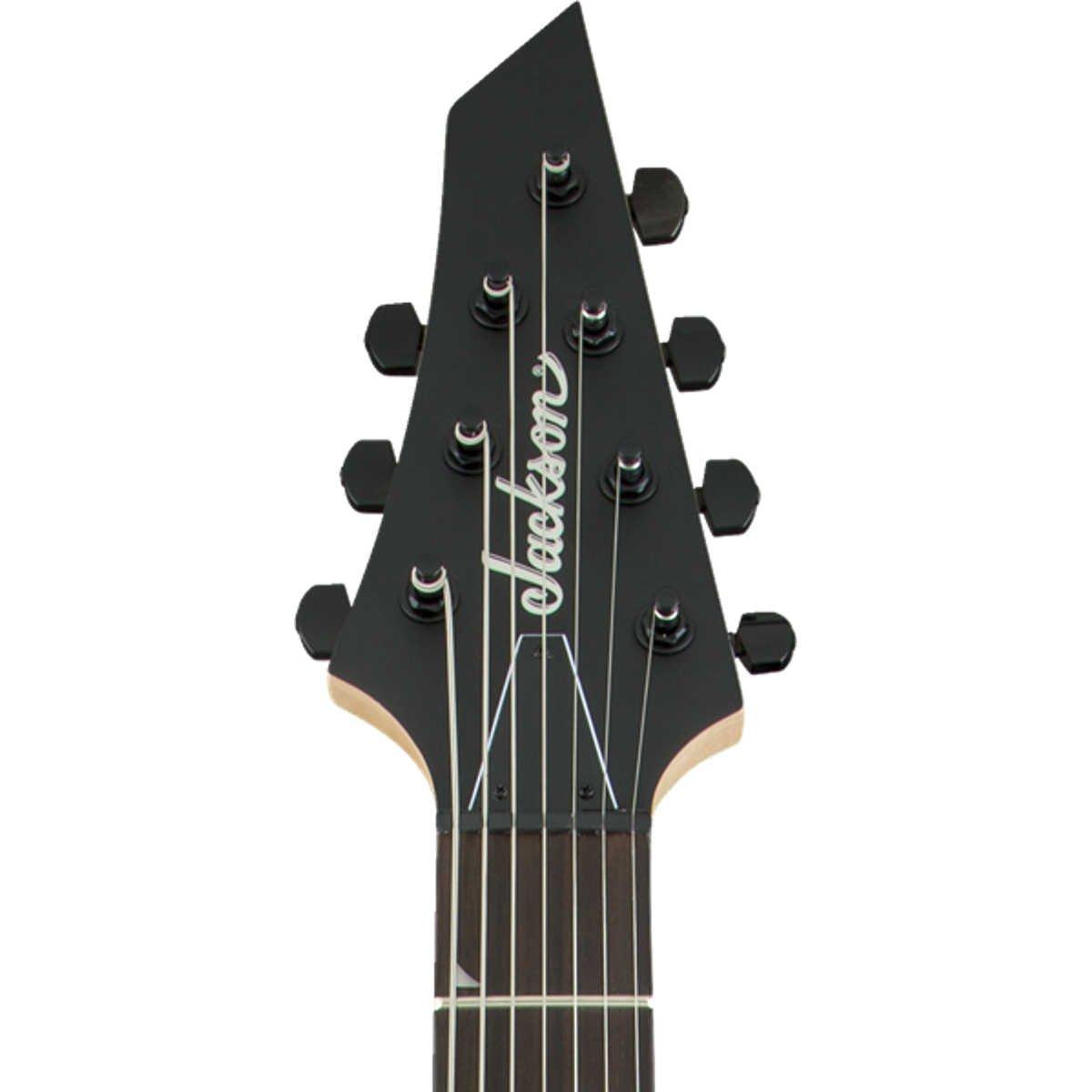 Guitarra Jackson 7 cordas Dinky Arch Top JS22-7 Satin Black