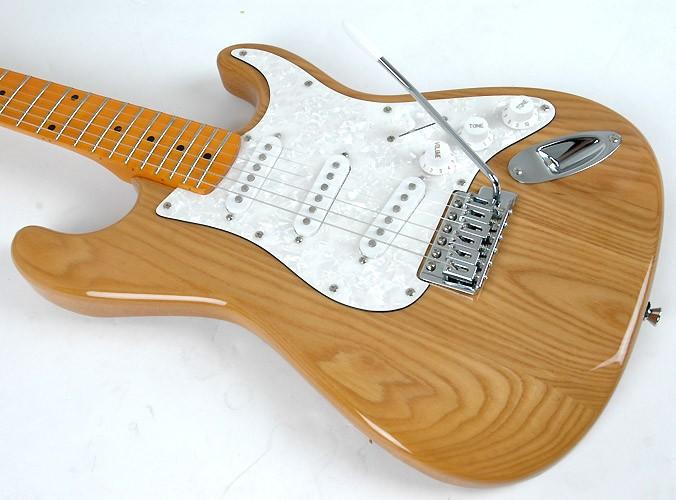 Guitarra SX Strato SST Ash  NA