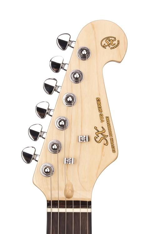 Guitarra SX Strato SST Ash/R NA