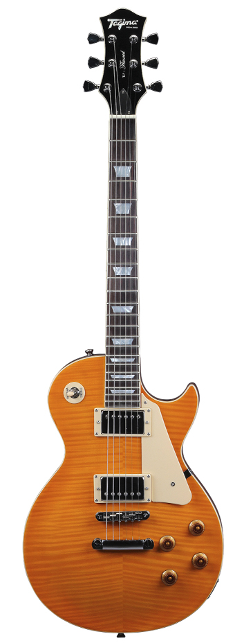 Guitarra Tagima Les Paul TLP Flamed TA com case