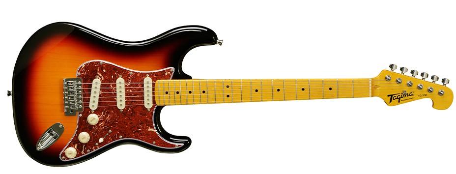 Guitarra Tagima Woodstock  Strato TG 530 SB