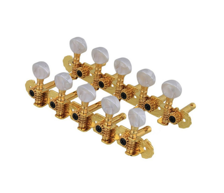 Jogo de Tarraxas para Viola Caipira PVT016 Dourada