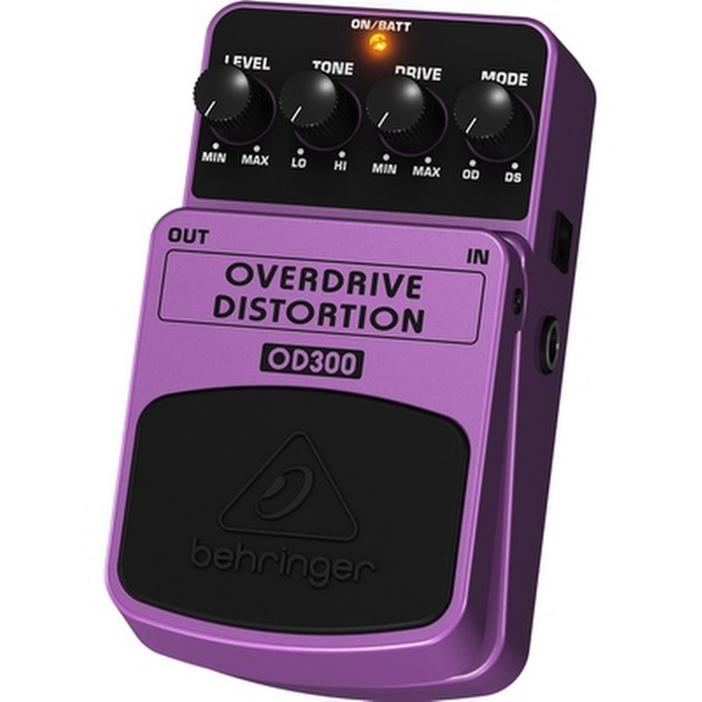 Pedal Behringer OD300 Overdirve Distortion