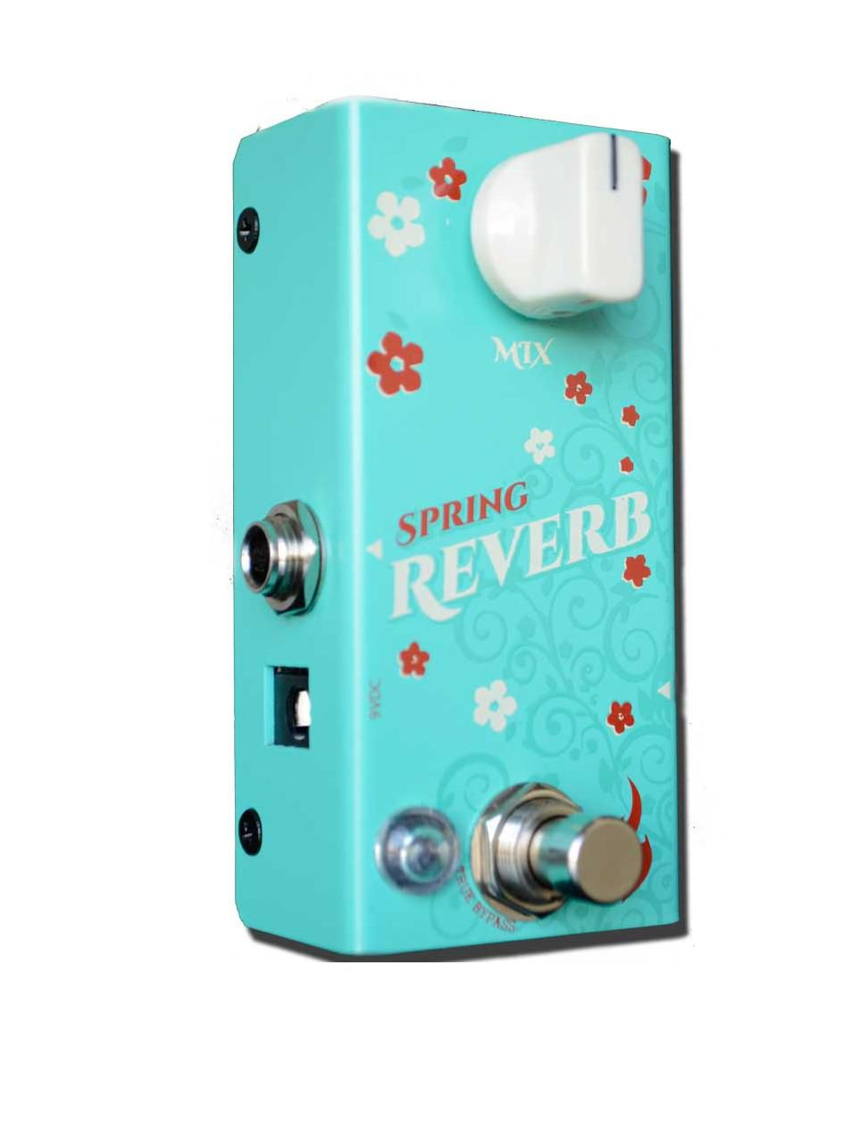Pedal Fire Custom Shop Spring Reverb