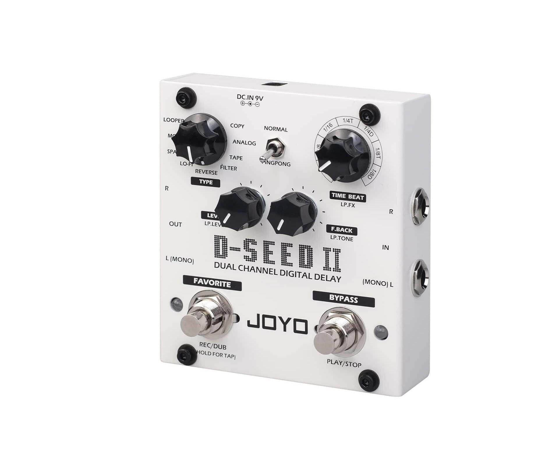 Pedal Joyo D-SEED II  Delay Stereo e Looper