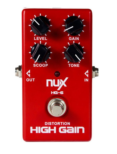 Pedal Nux HG6 High Gain