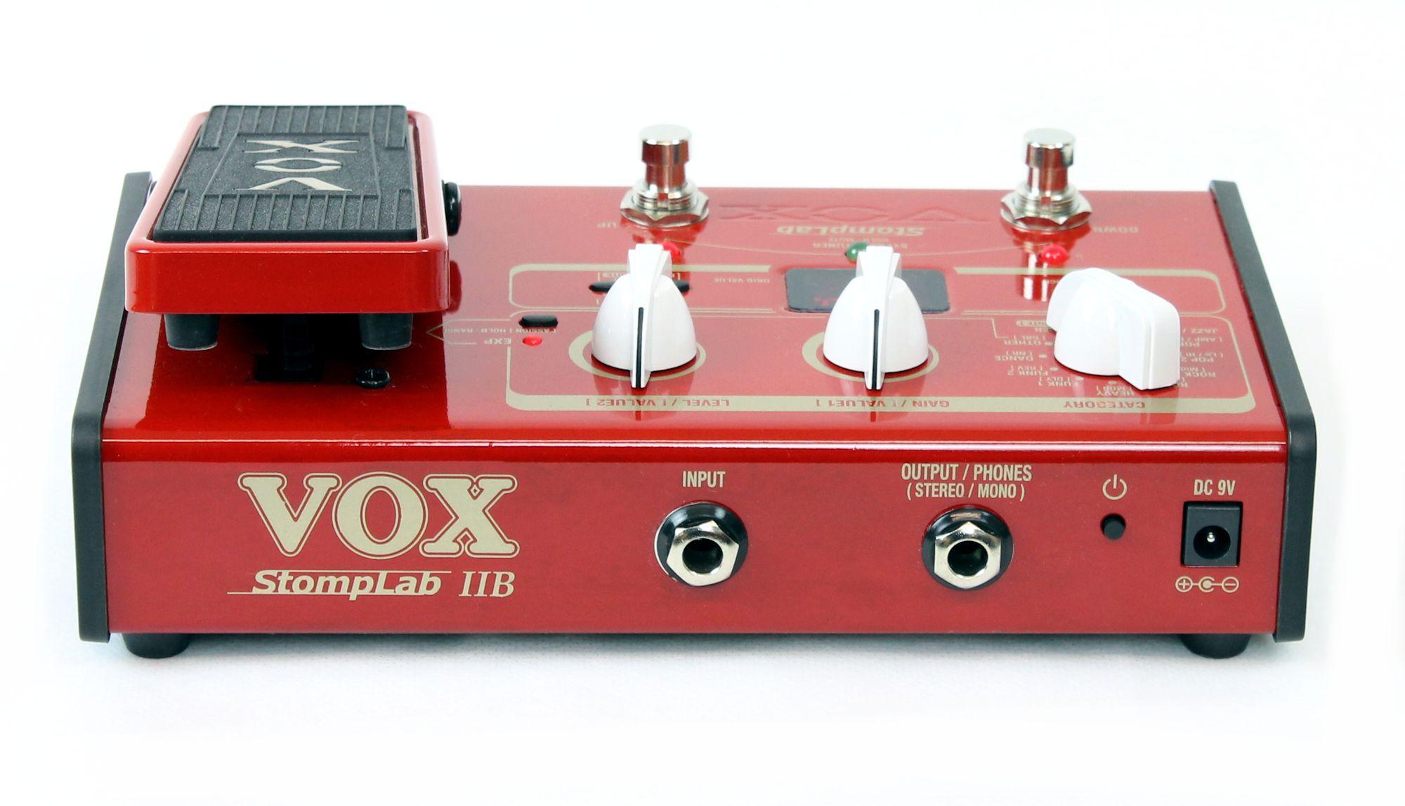 Pedaleira para Baixo Vox Stomplab 2B