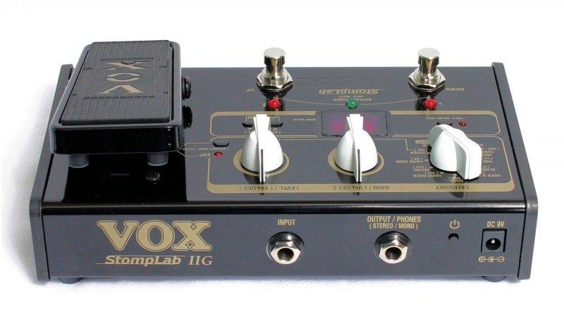 Pedaleira Vox Stomplab 2G