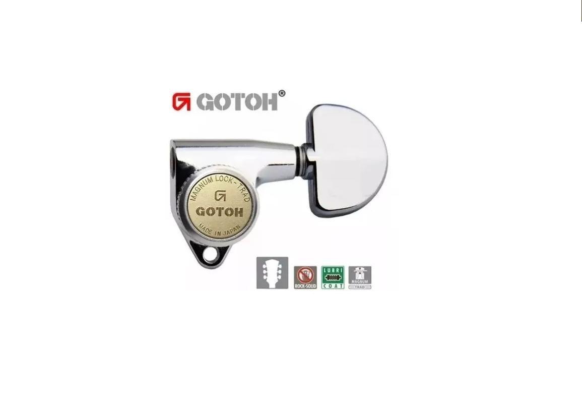 Tarraxa com Trava Gotoh 3+3 SG30120MGT/WS CR