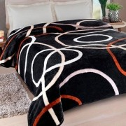 Cobertor Casal Jolitex Kyor Plus Avalon Preto