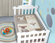 Edredom Bebê 1,16m x 0,87m  Coelho