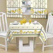 Toalha de mesa 1,45X1,40 Bule Amarelo