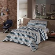 Kit Cama Casal Bed In A Bag Borgo 7 pçs