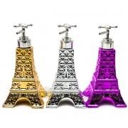 Porta Sabonete Liquido Dispenser Torre Eiffel Em Porcelana