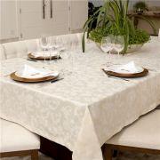 Toalha de Mesa Impermeavel Retangular Pietra Home Floral 160x270 cm - Angora