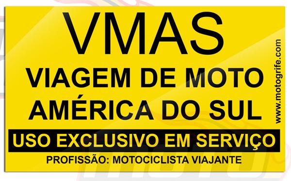 Adesivo Vinil Verniz VMAS - Uso Exclusivo em Serviço - Kit com 3 unidades
