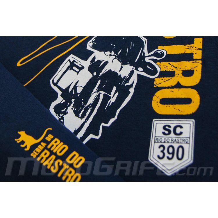 Camiseta Rio do Rastro - Azul Marinho