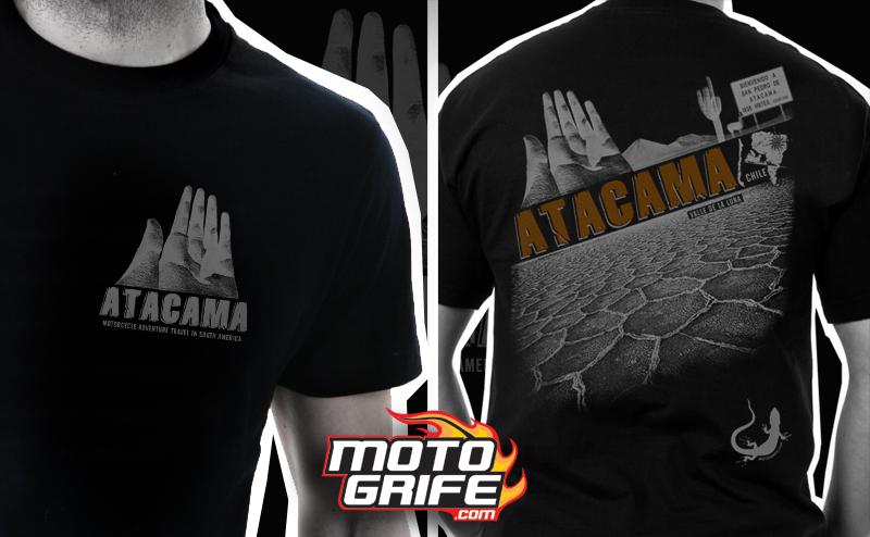 Camiseta Atacama - Preta
