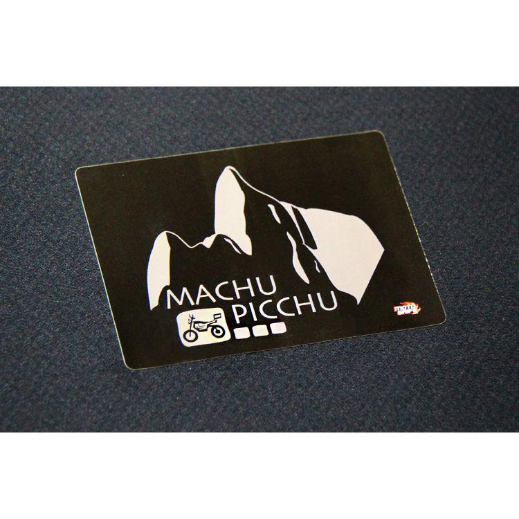 Adesivo Vinil Verniz Machu Picchu - Kit com 3 unidades
