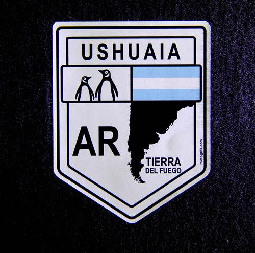 Adesivo Vinil Verniz Ushuaia Tierra Del Fuego - Kit com 3 unidades