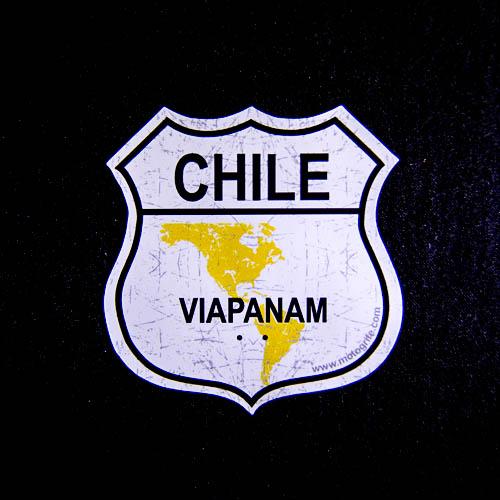 Adesivo Vinil Verniz Chile VIAPANAM - Kit com 3 unidades