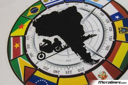 Camiseta Bandeiras da América do Sul - Branca