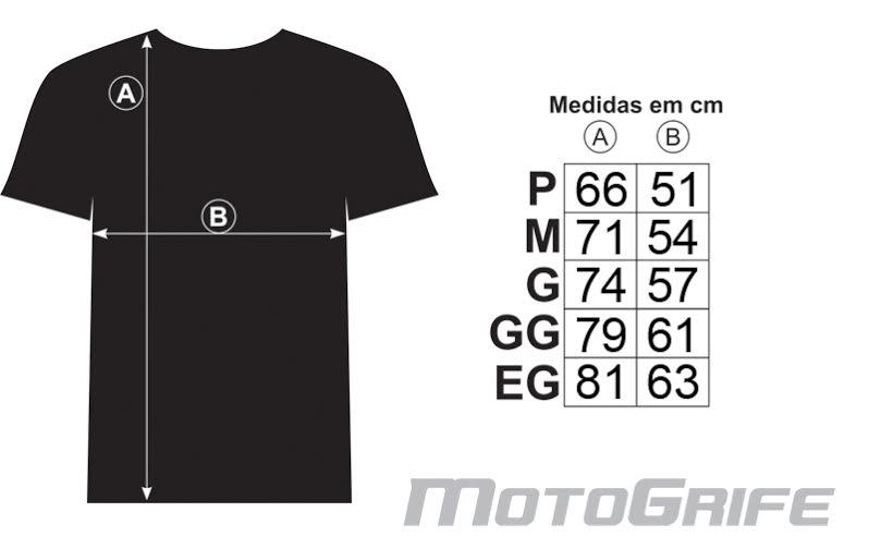 Camiseta Big Trail Evolution - Preta