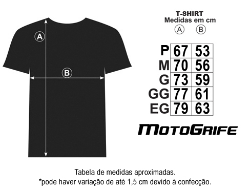 Camiseta Big Trail On-Off - Preta