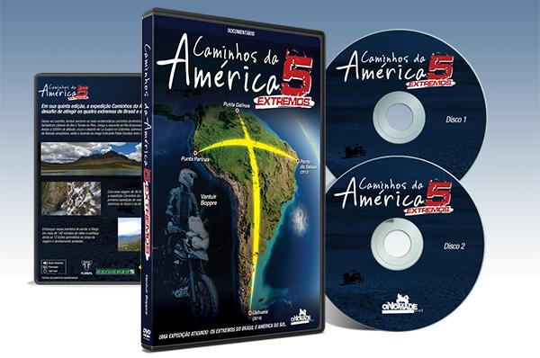 DVD Caminhos da América 5