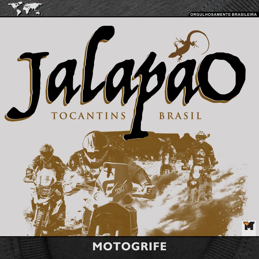 Camiseta Jalapão - Cor Cinza