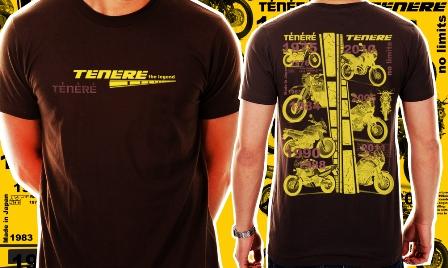 Camiseta Tenere The Legend - Cor Café