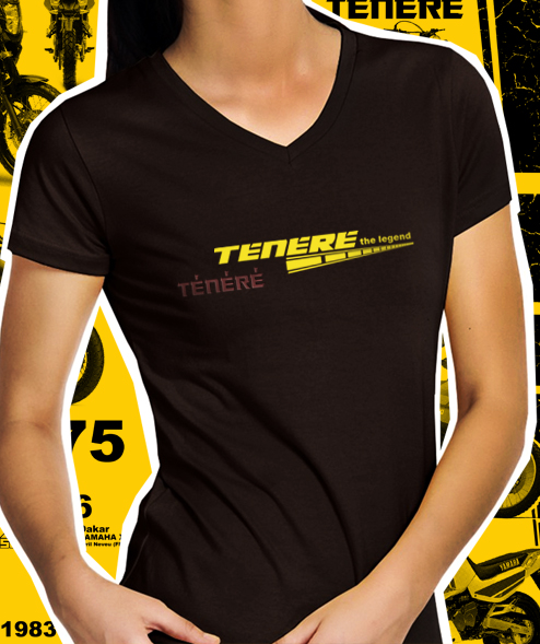 Camiseta Feminina Tenere The Legend - Cor Café