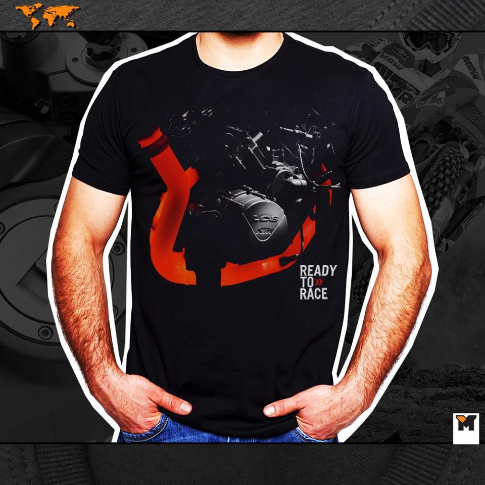 PRÉ VENDA Camiseta Motor LC8 - Preta