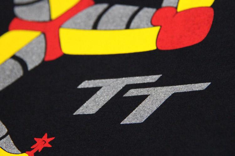 Camiseta Feminina Isle of Man - cor preta