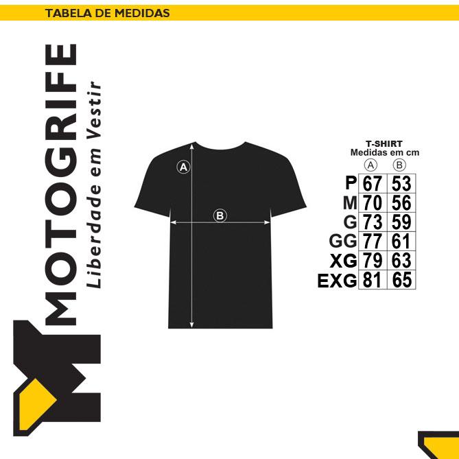 Camiseta Ushuaia Masculina - cor cinza