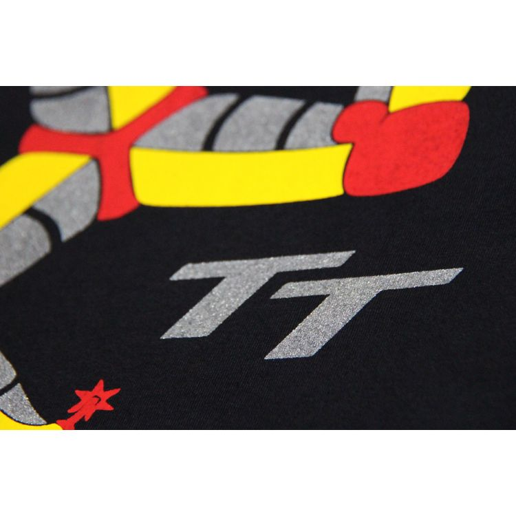 Camiseta Isle Of Man TT - Preta