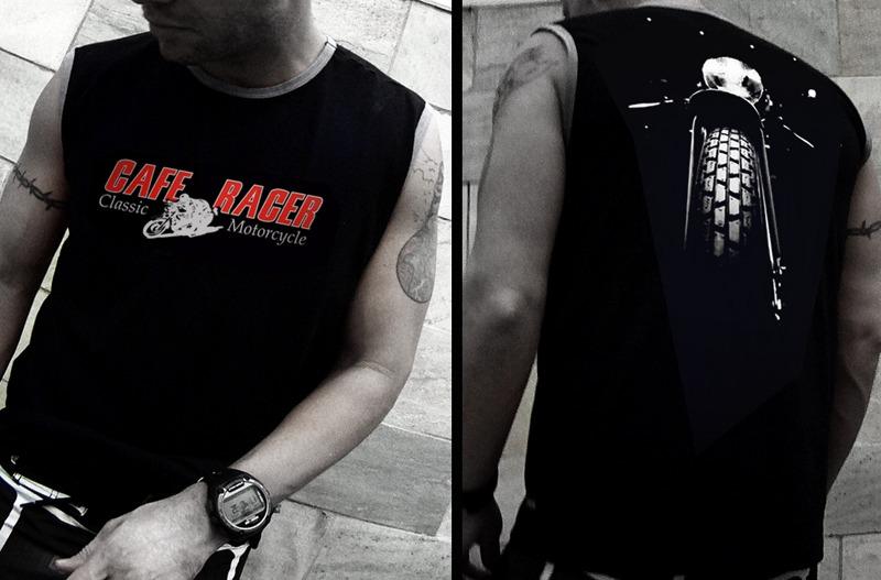 Camiseta De Moto Cafe Racer Classic Motorcycle