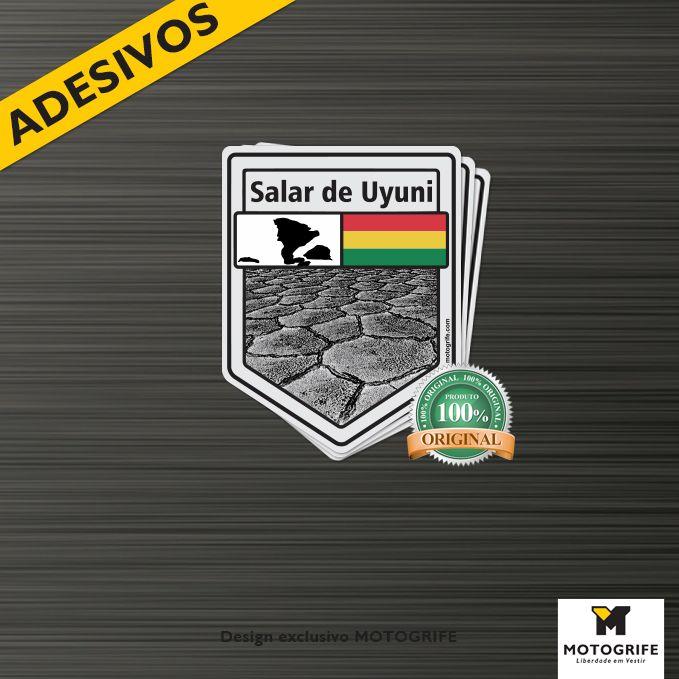 Adesivo Vinil Verniz Salar do Uyuni - Kit com 3 adesivos