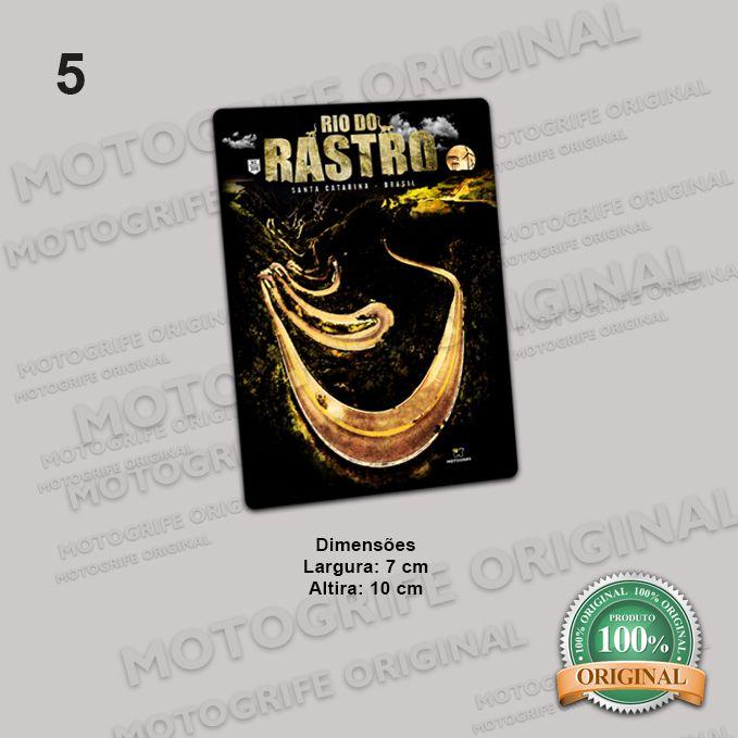 Adesivos Serra do Rio do Rastro - Kit com 5 unidades