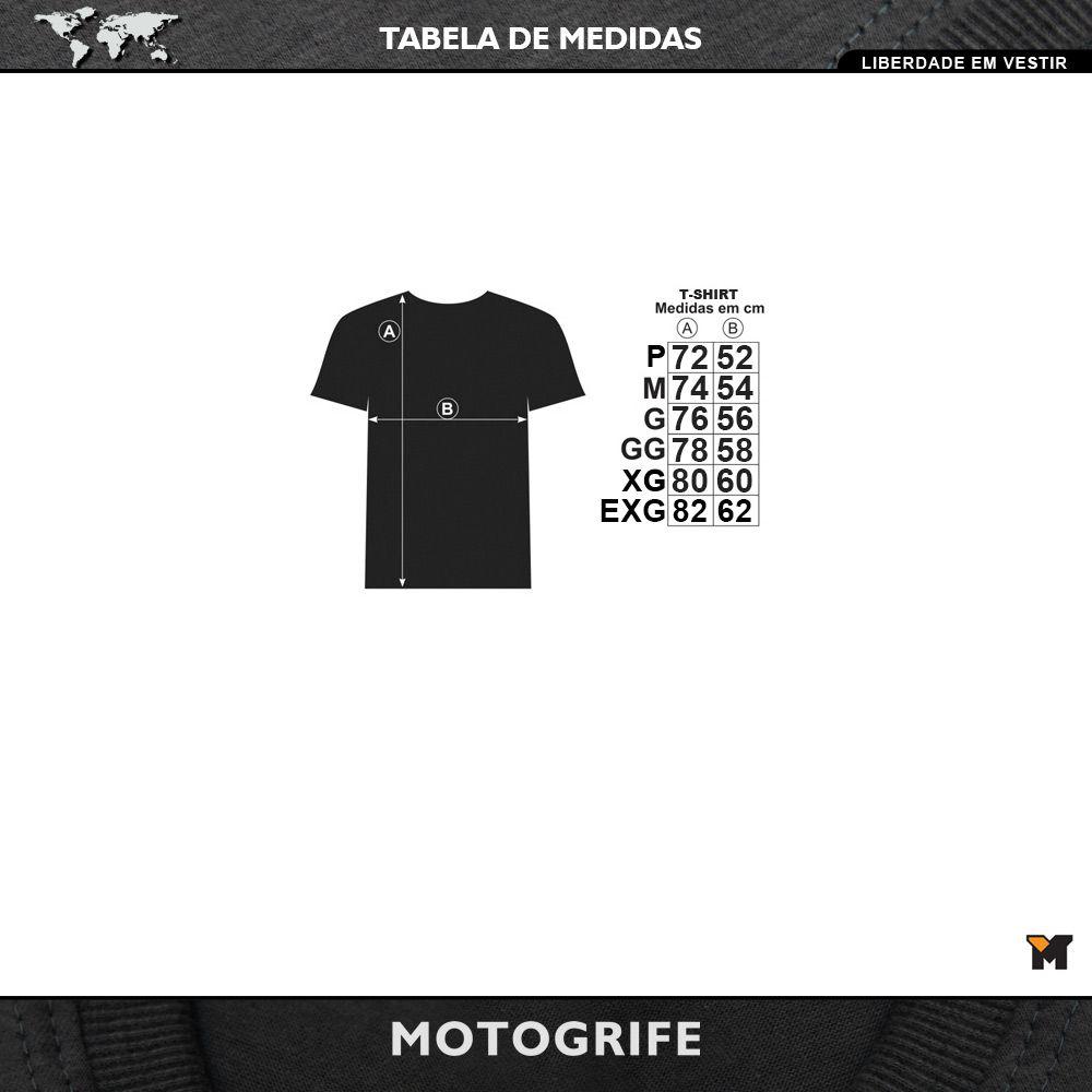 Camiseta América do sul em Duas Rodas Manga Longa - cor preta