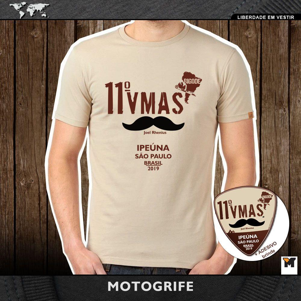 Camiseta masculina 11 VMAS - RETIRADA EM IPEUNA