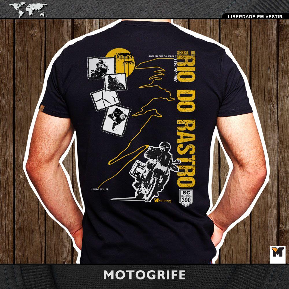 Camiseta Rio do Rastro - Preta