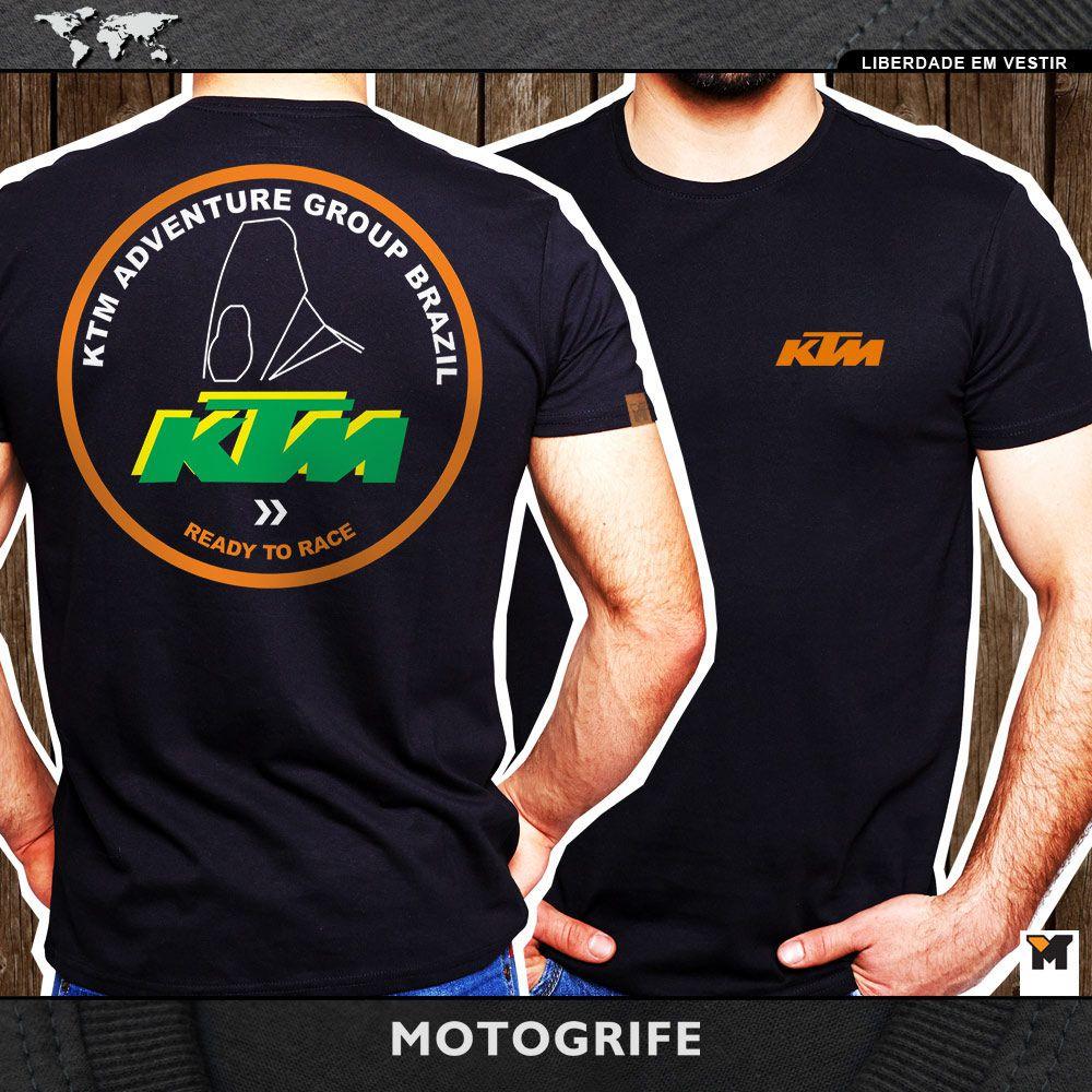 Grupo KTM camiseta manga curta