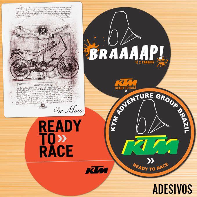 Grupo KTM kit adesivos